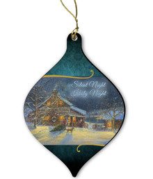 Country Cabin Ornament