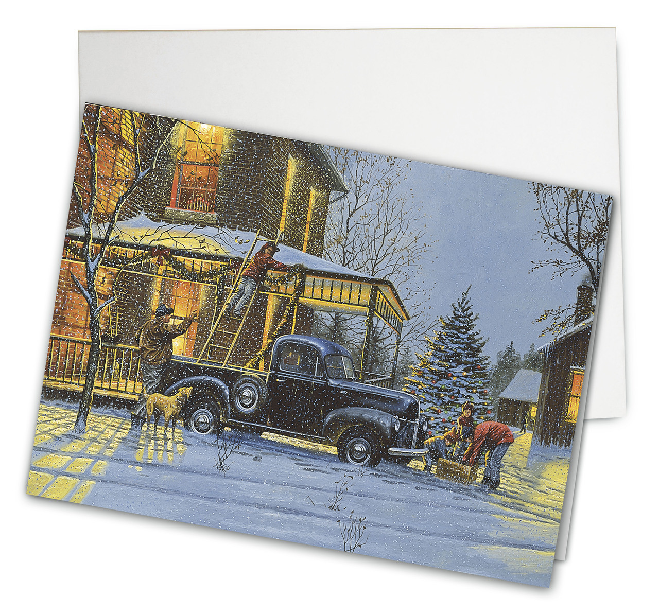 Old Fashioned Christmas Card - Barnhouse Gifts