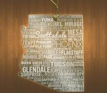 ArizonaAcrylic State Ornament