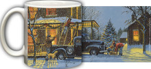 Old Fashioned Christmas Mug