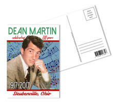 Dean Martin 100th Birthday Postcards