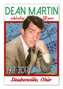 Dean Martin 100th Birthday Poster