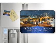 Nutcracker Village: Making Christmas Memories Magnet