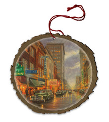 A Grand Night in Steubenville Wood Ornament