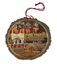 Catholic Central Wood Ornament