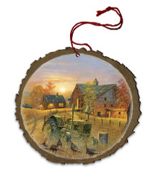 Coming Home Wood Ornament