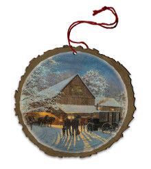 The Gathering Place Wood Ornament