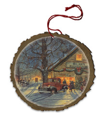 The Perfect Tree Wood Ornament