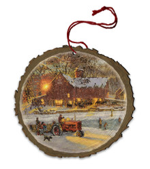 Home for the Holidays Wood Ornament