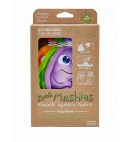 Reusuable Squeeze Pouches (10 pack)