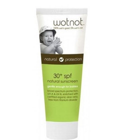 Wot Not 30 SPF for kids and babies