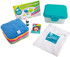 Mini Kit (contents) Rainbow Terry Cotton Wipes