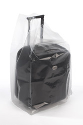 """10"""" x 8"""" x 24"""" 3 Mil Gusseted Poly Bags"""