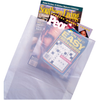 "8.5"" x 2"" x 11"" High-Density Merchandise Bags (White)"