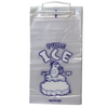 "8 Lb 11"" x 19"" 1.5 Mil Wicketed Ice Bags POLAR BEAR"