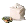 "19"" x 18"" Take Out Bag, White Plain"