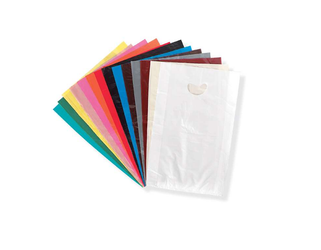 "16"" x 24"" Merchandise Bags, Colored, w/Die Cut Handles"