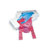 "10"" x 21"" T-Shirt Bag, Colored w/Dispenser Carton"