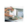 """6.5"""" x 7"""" 0.5 Mil High-Density Clear Saddle Pack Sandwich Bags"""