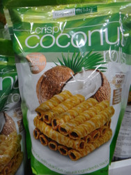 Tropical Fields Crispy Coconut Rolls 265G | Fairdinks