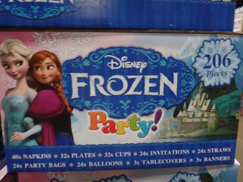 Frozen Party Decorations 206 Pieces | Fairdinks