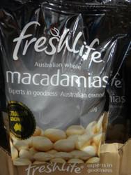 Freshlife Large Whole Macadamias 750G | Fairdinks
