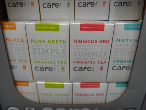 Care Organic Tea 4x18PK | Fairdinks
