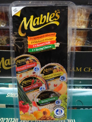 Mables Cream Cheese Variety Pack 4 x 190G | Fairdinks