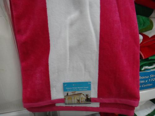 Home Inspiration Stripe Resort Towel 91cm x 172cm -1 | Fairdinks