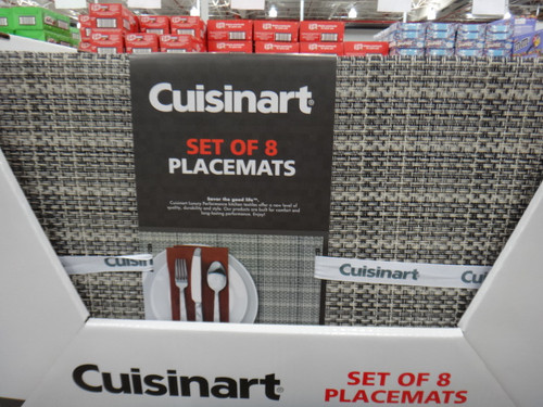 Cuisinart 8PK Placemat Set Size: 33.02CM x 45.72CM | Fairdinks
