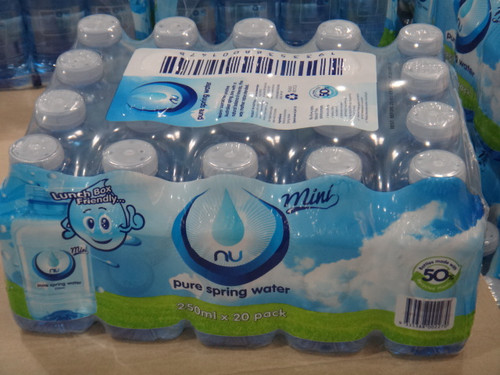 Nu-Pure Australian Spring Water 20 x 250ML | Fairdinks