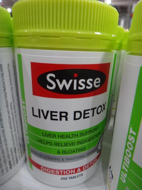 Swisse Ultiboost Liver Detox 250 Tablets Fairdinks