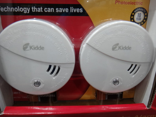Kidde Smoke Alarm Photoelectric 2 Pack | Fairdinks