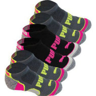 Puma Women's No Show Socks 6PK US Sizes | Fairdinks