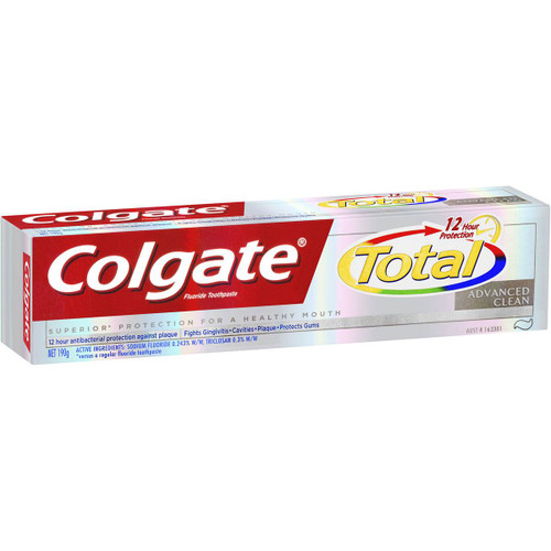 Colgate Total and Advanced Clean Toothpaste 5 x 200g   Fairdinks