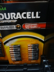 Duracell Alkaline Batteries AAA 30 Pack | Fairdinks