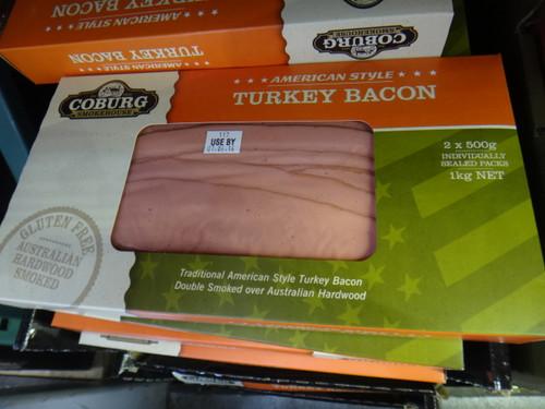 Coburg Smokehouse Turkey Bacon 1KG (2x500G) | Fairdinks