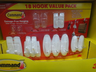 3M/ Command Brand Removable Hook Value Pack 18PCS | Fairdinks