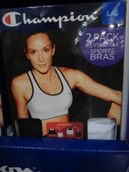 Champion Womens 2PK Sports Bra AU Sizes: M-XL | Fairdinks