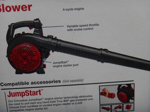 Troy-Bilt Blower 25CC 4 Stroke Engine | Fairdinks