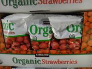 Kirkland Signature Organic Strawberries 1.81 KG | Fairdinks