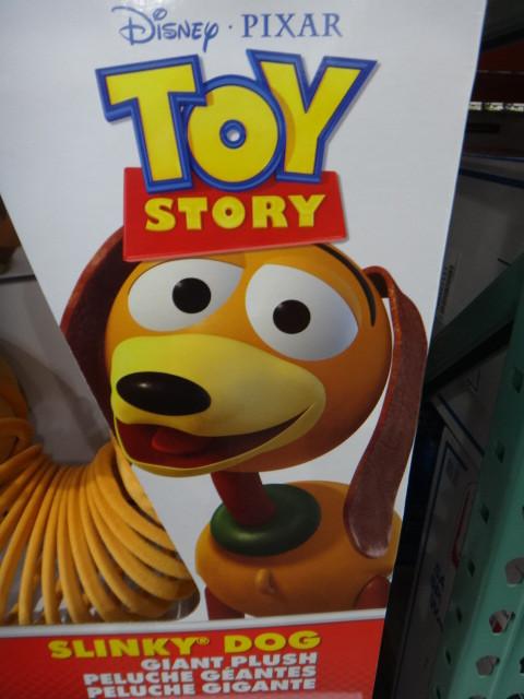 Toy Story Slinky Dog Plush | Fairdinks