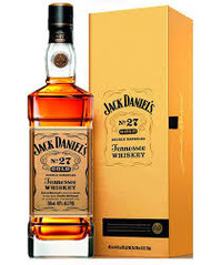Jack Daniel's Tennessee Whiskey 700ml NO27 Gold.