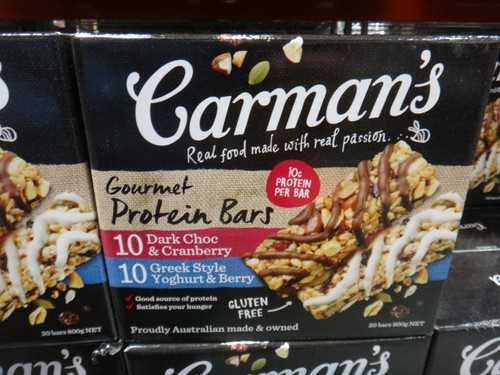 Carman's Gourmet Protein Bars 20 x 40G | Fairdinks