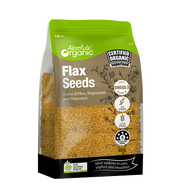 Absolute Organic Organic Gold Flax Seeds 1.5KG | Fairdinks