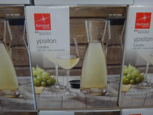 Bormioli Rocco Ypsilon Glass Carafe 2 Pack | Fairdinks