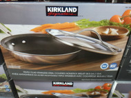 Kirkland Signature Tri-Ply Clad Skillet With SS lid 30.5CM | Fairdinks