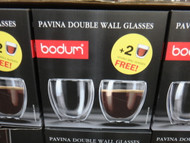 Bodum Pavina Doublewall Glasses 8 Piece | Fairdinks