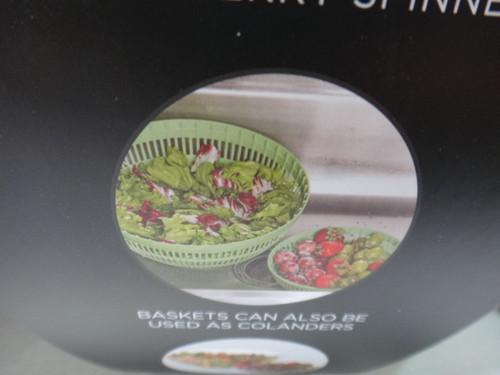 Sabatier Salad Spinner 2 Piece Set   Fairdinks