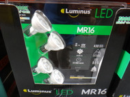 Luminus MR16 LED Light 4 Pack 6W/ 430 Lumens / 3000K | Fairdinks